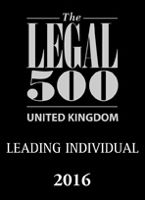 Legal 500 2016 Leading Individual