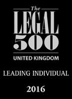 Legal 500 2016 Leading Individual